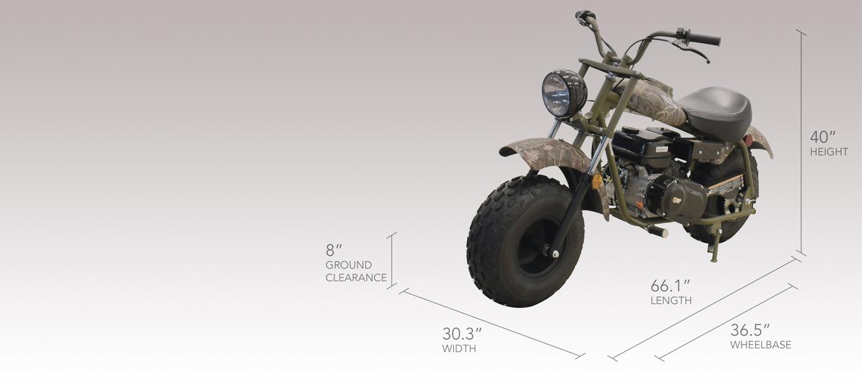 MB 200 - Motorcycles | Massimo Motor